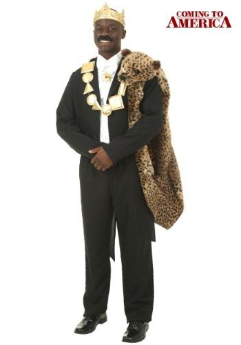 Coming to America Akeem Plus Size Costume