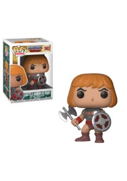 Pop! TV: Masters of the Universe Battle Armor He-Man