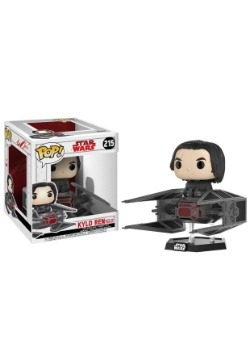 Pop! Deluxe Star Wars The Last Jedi Kylo Ren w/ TIE Fighter