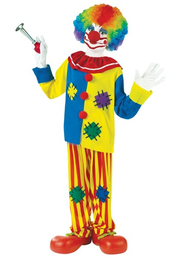 Silly Clown Kids Costume