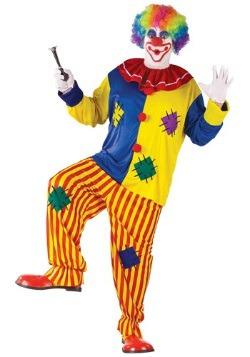 Big Top Party Clown Costume