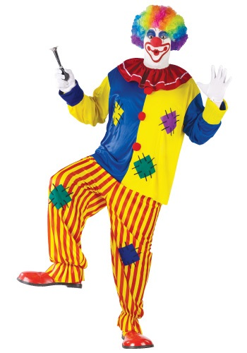 Big Top Plus Size Clown Costume