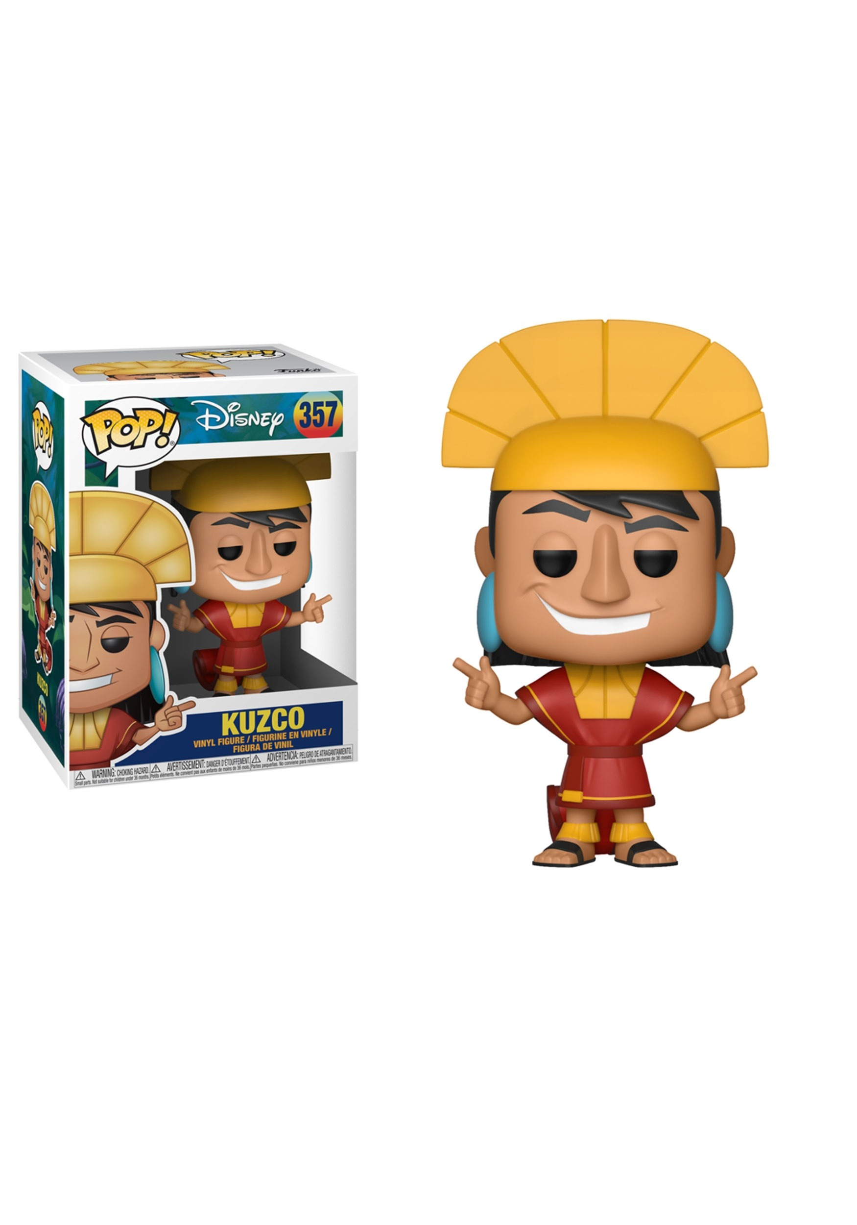 Pop Disney Emperor S New Groove Kuzco Vinyl Figure