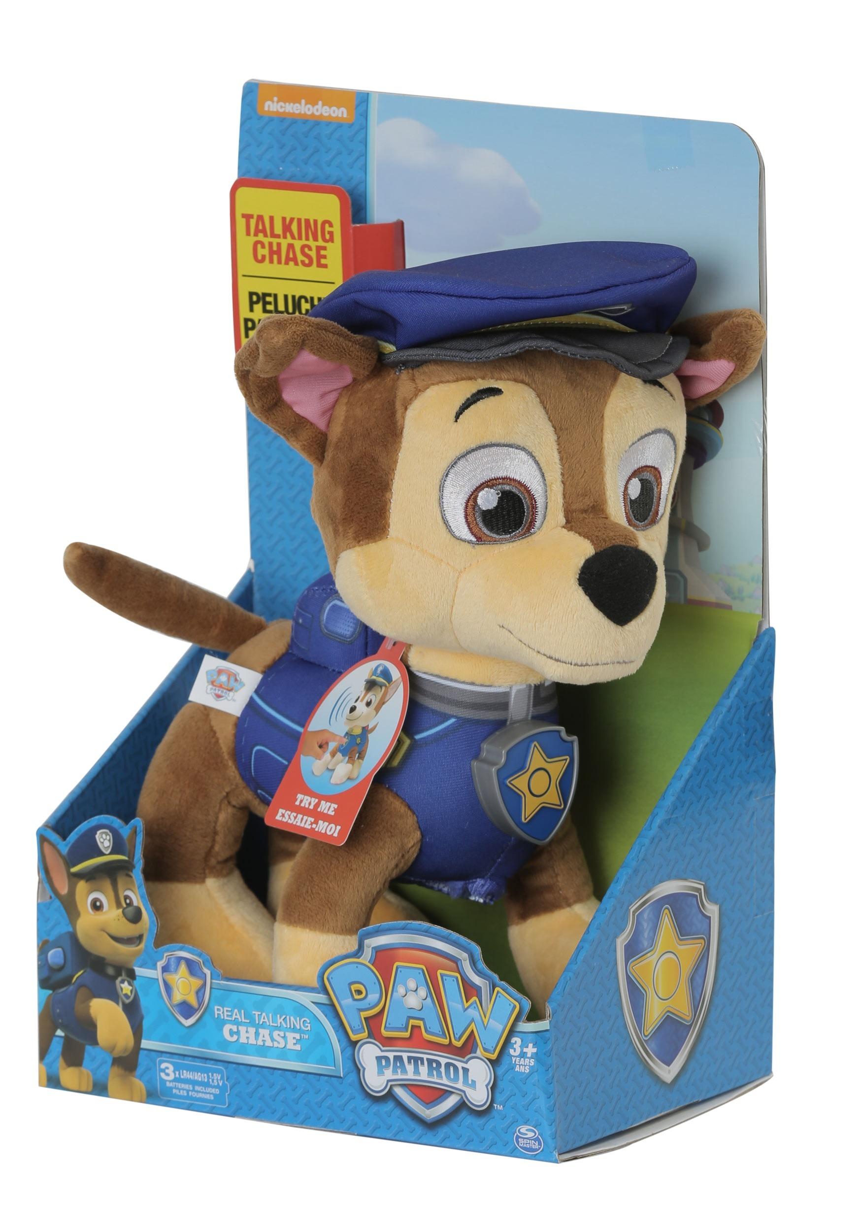 Paw Patrol Chase Talking Plush