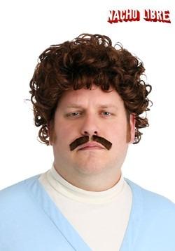 Nacho Libre Wig & Mustache Adult