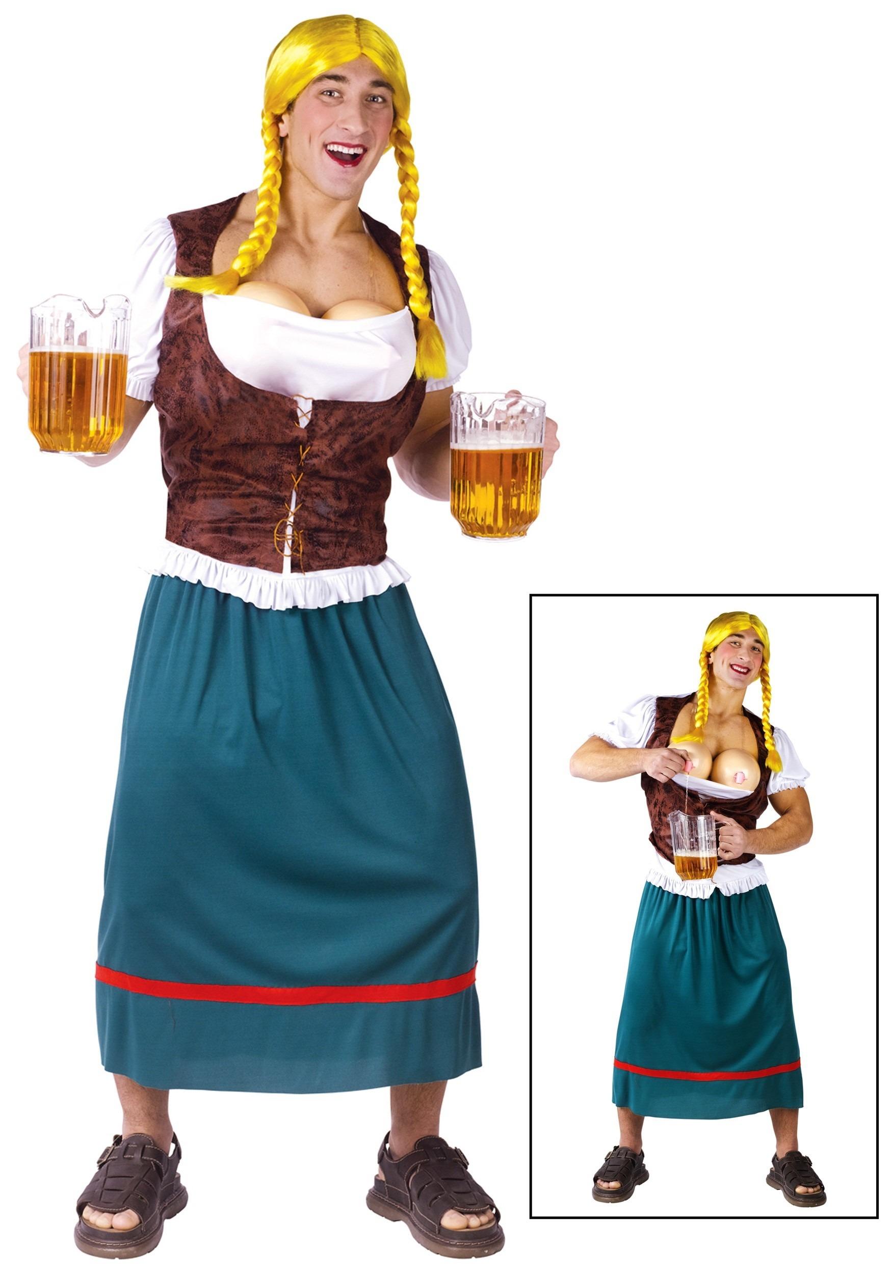german beer girl costume for men