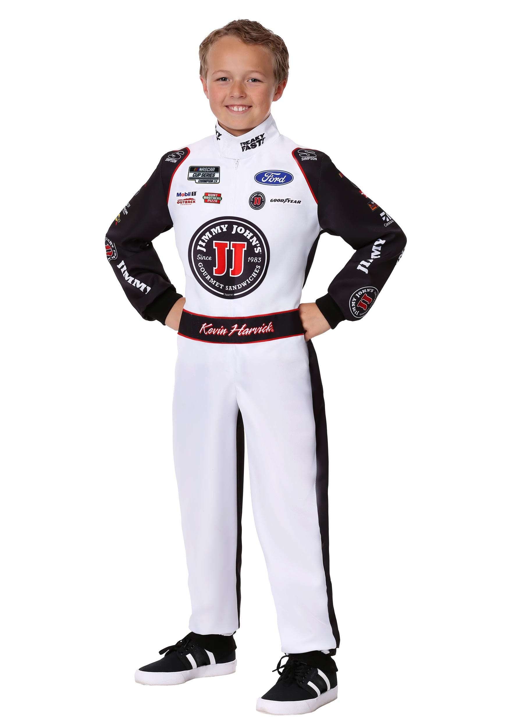 #4 Kevin Harvick(R) Jimmy John's Uniform Child Costume