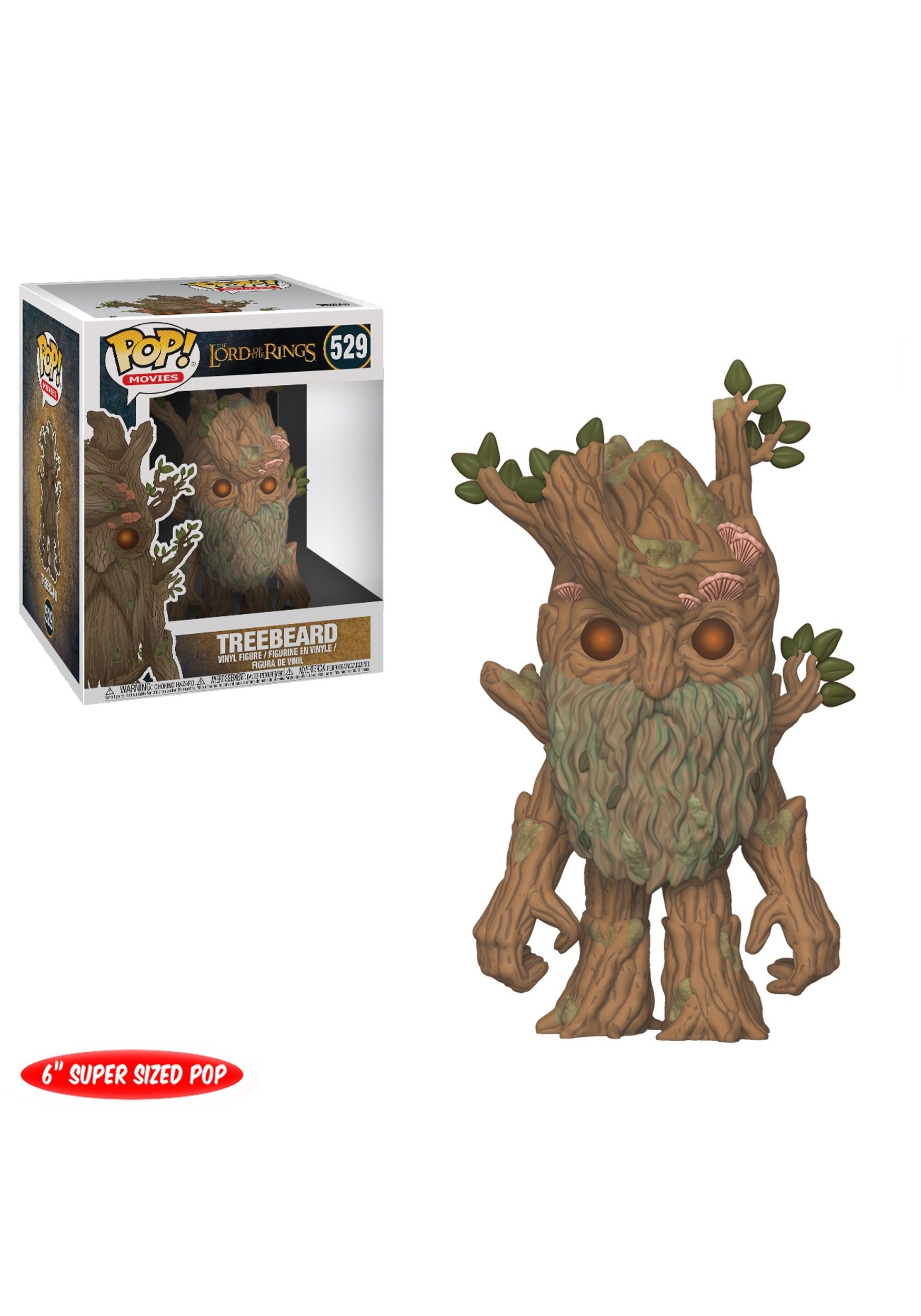 Pop Movies The Lord Of The Rings Treebeard 6 Quot Vinyl Figure