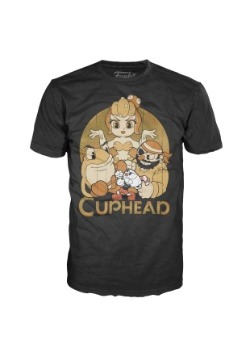 Pop! Tees: Cuphead and Bosses Adult T-Shirt