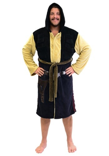Han Solo Adult Fleece Bathrobe