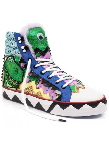 Irregular Choice Toy Story Cover My Eyes Rex High Tops