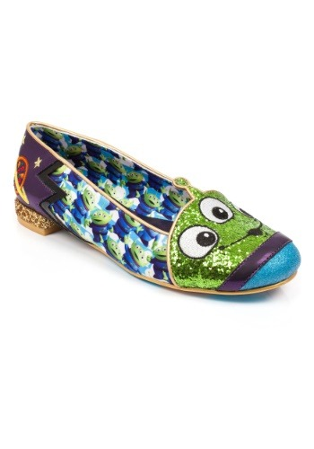 Irregular Choice Toy Story Eternally Grateful Alien Flats