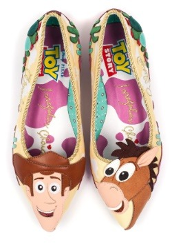 Toy Story Round Up Gang Woody and Bullseye Flats3