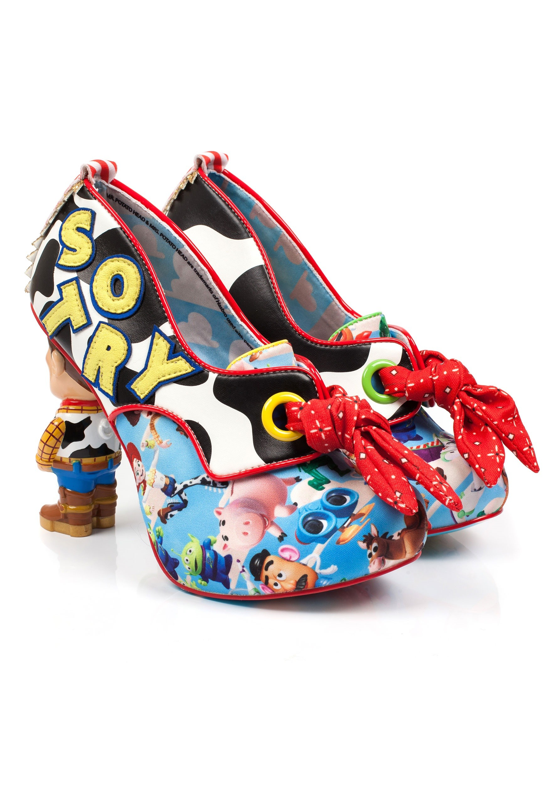 Irregular Choice Toy Story You Ve Got A Friend In Me Woody And Buzz