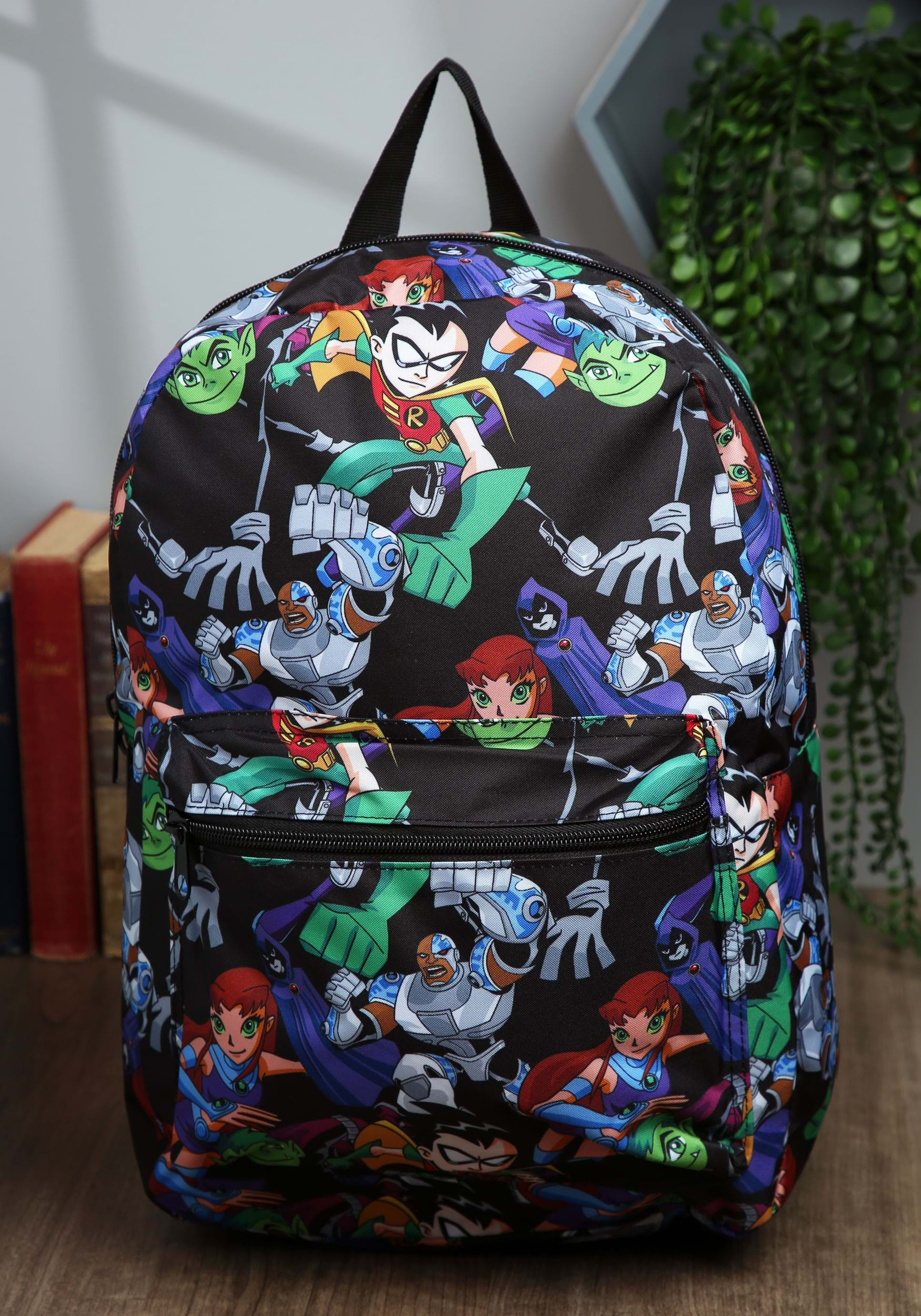 Teen Titans Go All Over Print Back Pack-6546