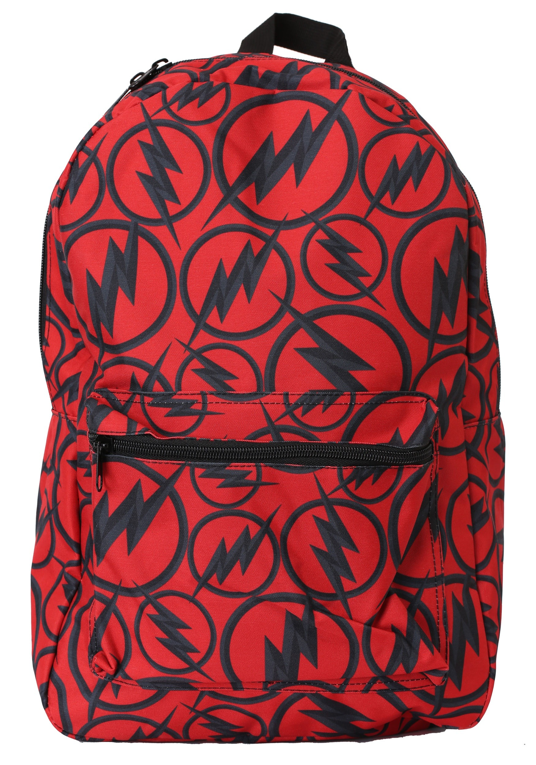 955e23cc28 Backpack The Flash Dark Logo All Over Print