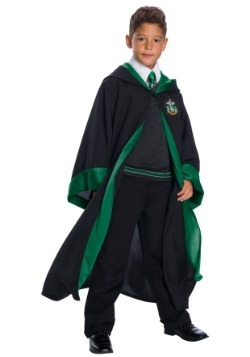 Child Deluxe Slytherin Student Costume