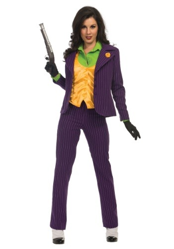 Women's Premium Joker Costume