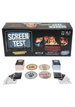 Stranger Things Screen Test Game