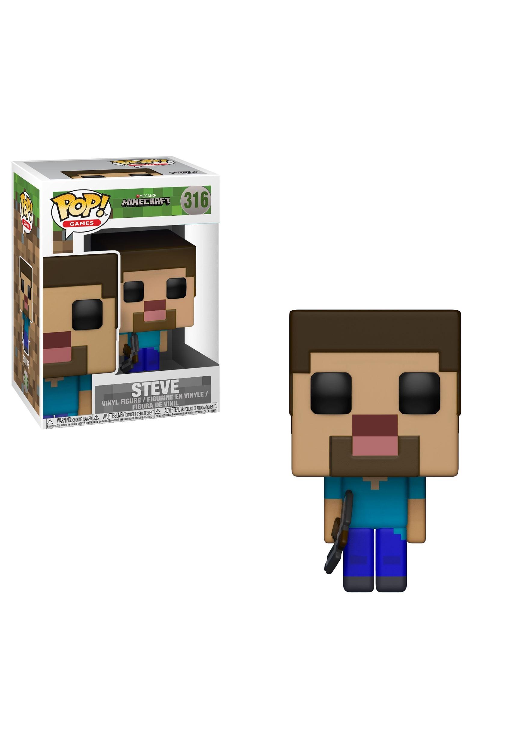 Pop! Games: Steve Minecraft Vinyl Figure FN26383
