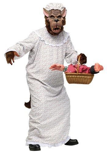 Men's Big Bad Granny Wolf Costume