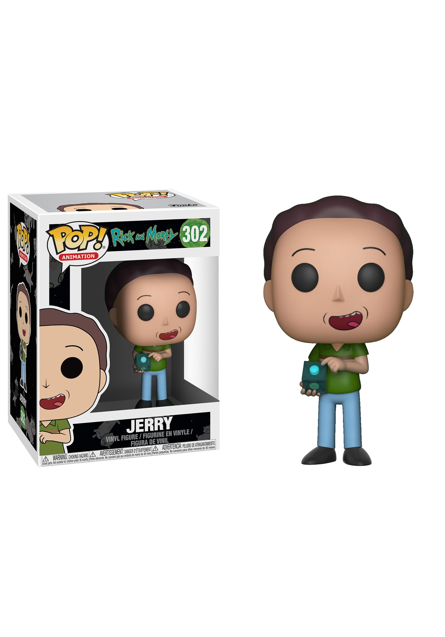 Jerry Pop Rick And Morty Vinyl Figure