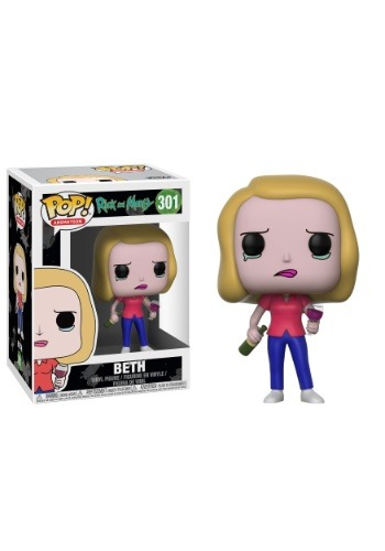 Pop! Rick and Morty Beth Vinyl Figure