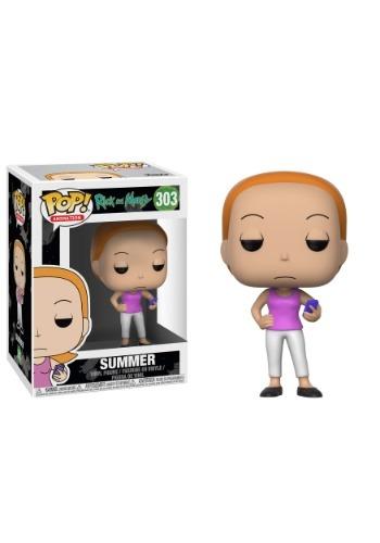 Pop! Rick and Morty Summer Vinyl Figure