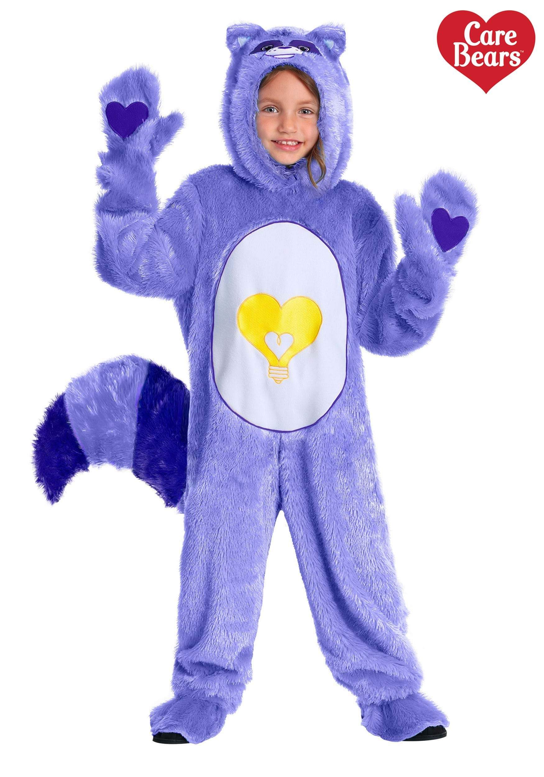 Care Bears Cousins Bright Heart Raccoon Toddler Costume