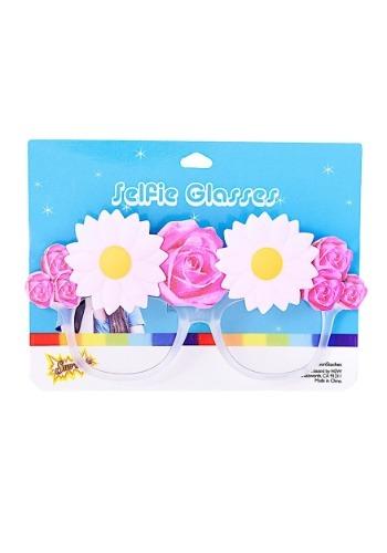 Selfie Flower Crown Glasses2