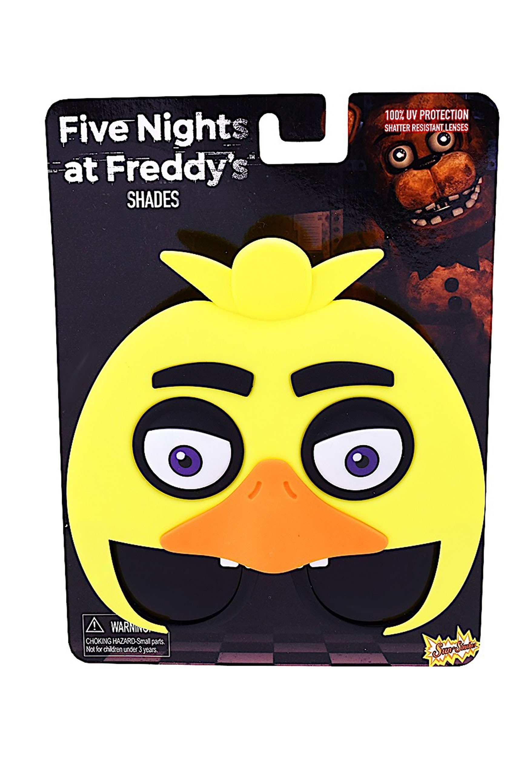 five nights at freddy s chica sunglasses