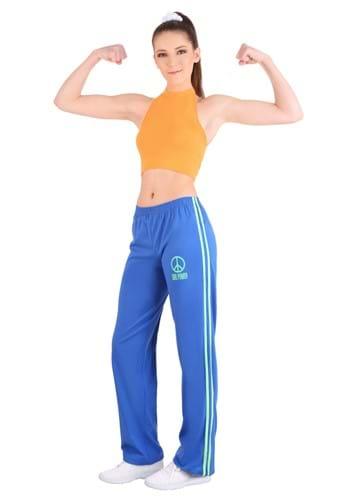 Athletic Girl Power Popstar Costume Womens update
