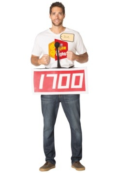 Price is Right Red Contestant Costume