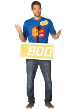 Price is Right Yellow Contestant Costume Kit