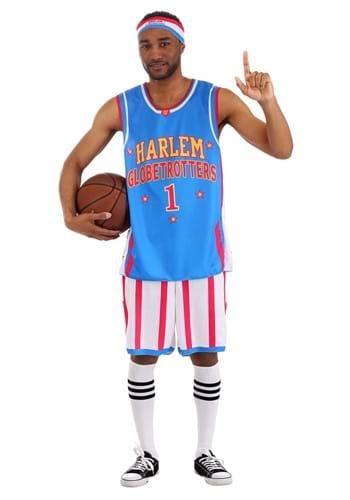 Harlem Globetrotters Men's Uniform Costume-Update
