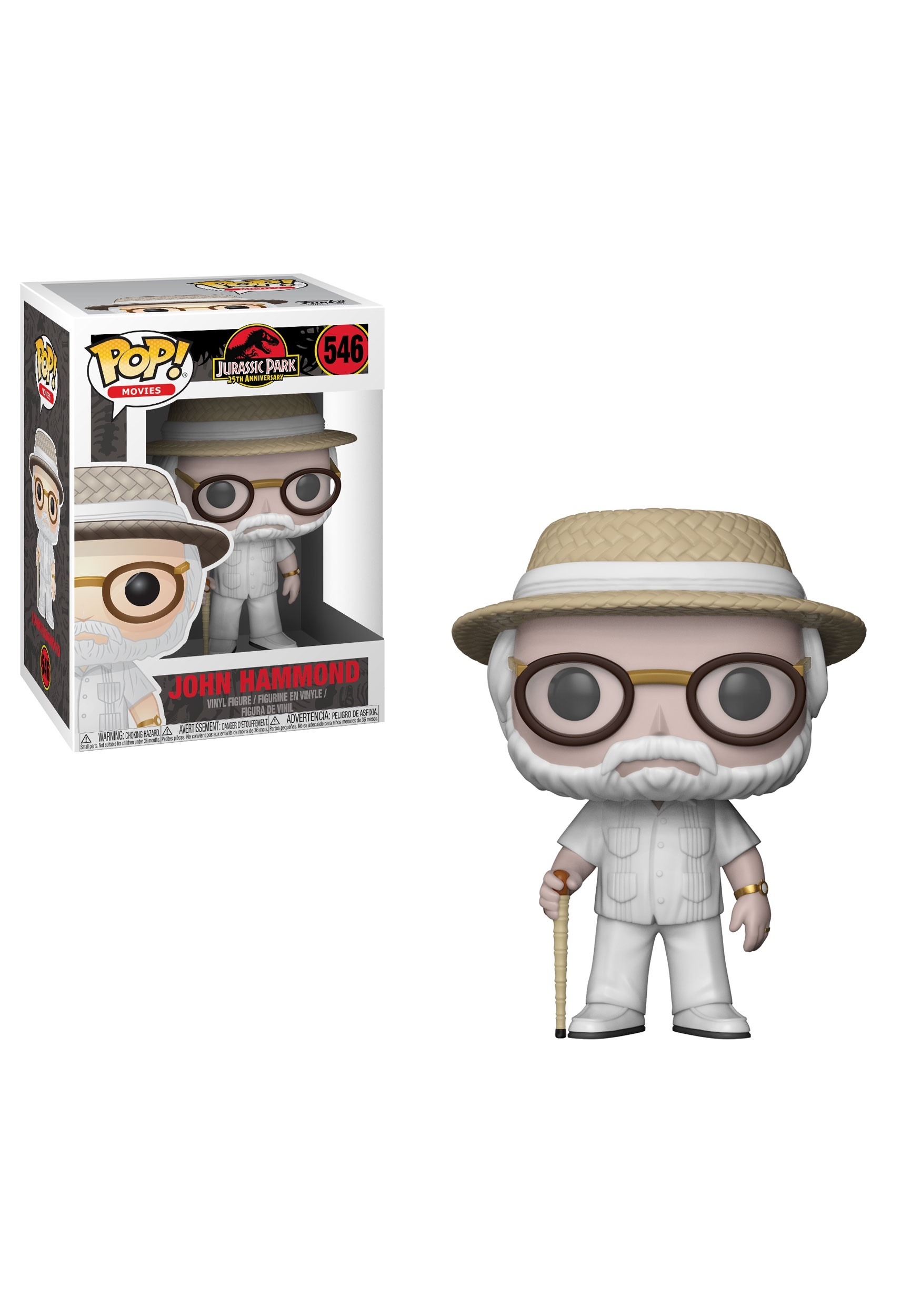 POP! Movies: Jurassic Park John Hammond Vinyl Figure FN26732