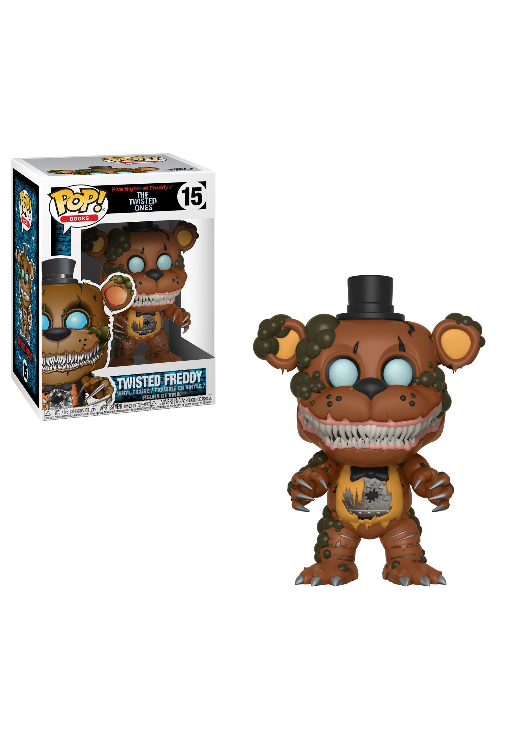 Books Five Nights at Freddys Theodore Vinyl Figure POP