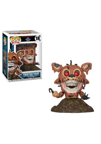 Five Nights at Freddy's Twisted Foxy POP! Vinyl Figure FN28807-ST