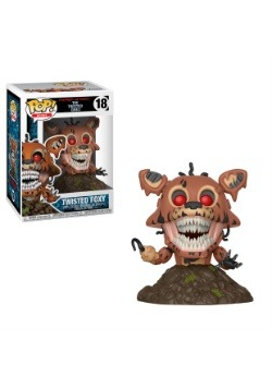 Pop! Books: Five Nights at Freddy's Twisted Foxy Figure