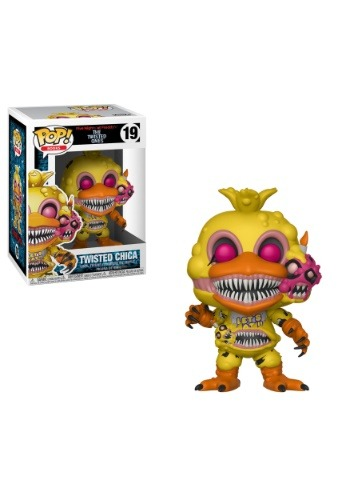 POP! Books: Five Nights at Freddy's Twisted Chica Vinyl Figu FN28808