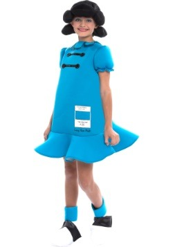 Girls Peanuts Lucy Costume