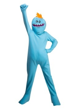 Child Rick and Morty Mr. Meeseeks Costume
