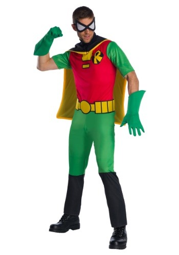 Teen Titans Robin Costume For Adults