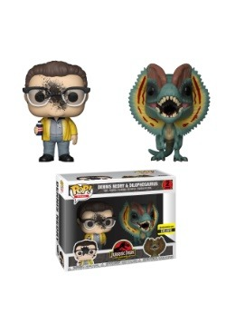 POP! Movies: Jurassic Park Dennis Nedry & Dilophosaurus Pack