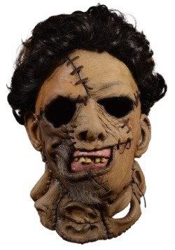 Texas Chainsaw Massacre 2 1986 Deluxe Leather Face Mask