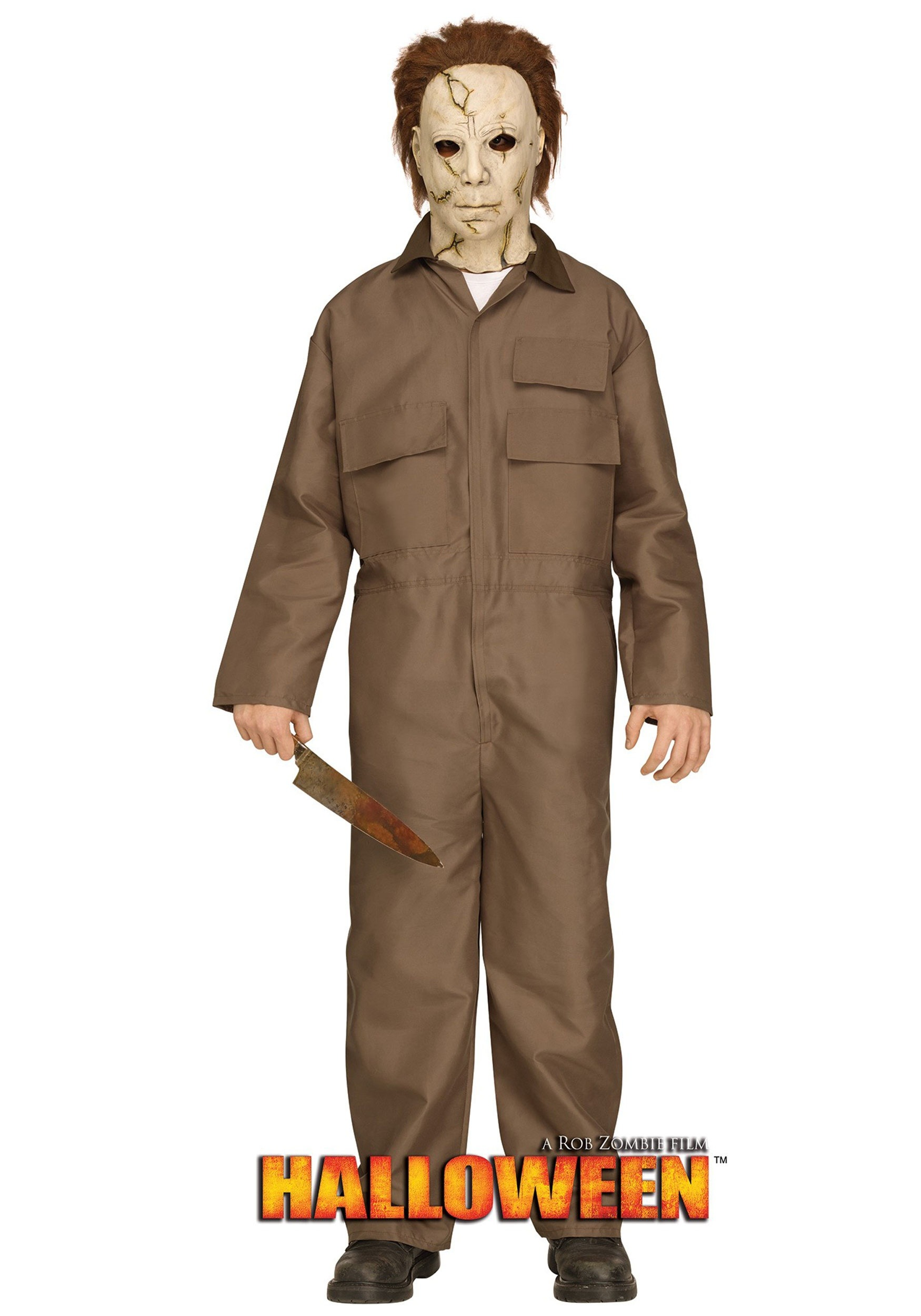 rob zombie halloween michael myers costume for teens