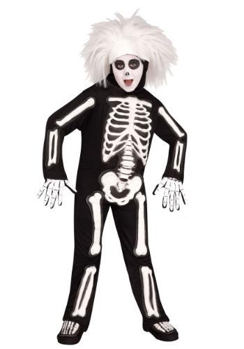 Child SNL Beat Boy Skeleton Costume