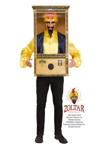Men's Zoltar Speaks Booth Costume