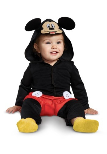 Disney Mickey Mouse Infant Costume Jumpsuit