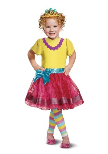 Girl's Deluxe Fancy Nancy Costume